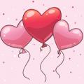 heart balloon theme