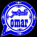 omar whatsapp blue